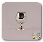 Серебряный бокал для коньяка