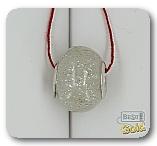 Серебряная подвеска-шарм с муранским стеклом