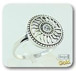 Серебряное кольцо с цирконом
