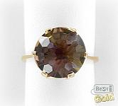 Золотое кольцо с аметрином