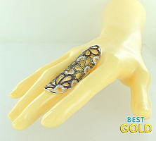 Серебряное фаланговое кольцо